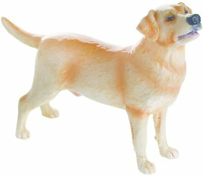 John Beswick yellow Labrador dog figure ceramic ornament JBD100