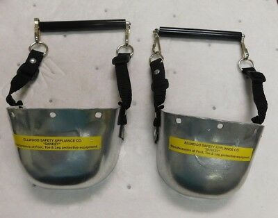 Ellwood Safety Universal Size Sankey Carbon Steel Toe Guards 1 Pair 702