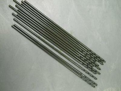 """Union Butterfield 43-10210 No. 2x12"""" 135 Degree Aircraft Ext Drills Lot of 12"""