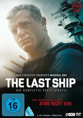 The Last Ship. Staffel.1, 3 DVDs