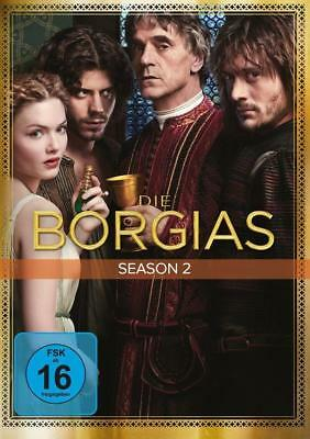 Die Borgias. Season.2, 4 DVDs