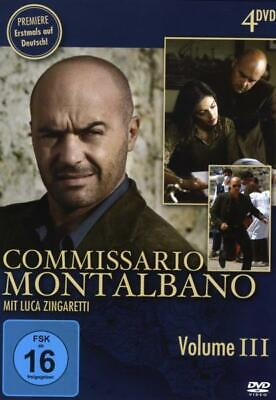 Commissario Montalbano. Staffel.3, 4 DVDs