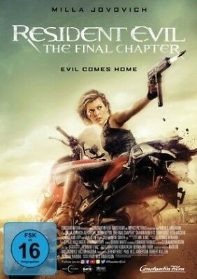 Resident Evil: The Final Chapter, 1 DVD