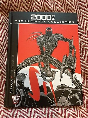 2000 Ad The Ultimate Collection Issue 3 Vol 57 Shakara The Avenger New