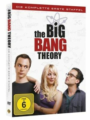 The Big Bang Theory. Staffel.1, 3 DVDs