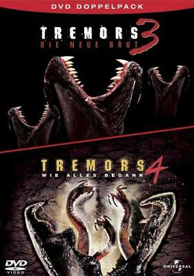 Tremors 3 + 4, 2 DVDs