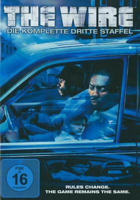 The Wire. Staffel.3, 5 DVDs