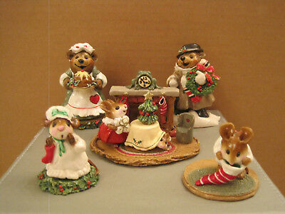 Wee Forest Folk Lot of (5) Great Christmas Pieces for a great price