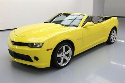Chevrolet Camaro LT Texas Direct Auto 2014 LT Used 3.6L V6 24V Automatic RWD Convertible OnStar