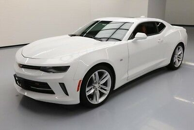 Chevrolet Camaro LT Texas Direct Auto 2017 LT Used 3.6L V6 24V RWD Coupe Moonroof Bose Premium