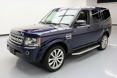 Land Rover LR4 HSE LUX 2016 HSE LUX Used 3L V6 24V Automatic AWD SUV Premium