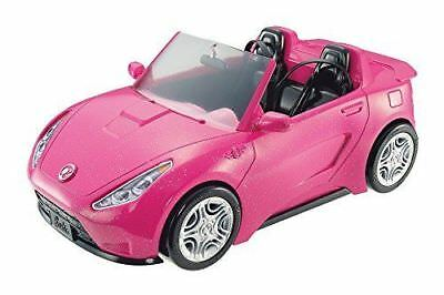 BARBIE 2 SEAT GLAM PINK CONVERTIBLE GLAM CAR NIB Mattel