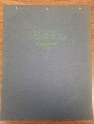 Browning Manufacturing Co. One Yard Dipper Dredge Specifications Booklet - 1910s