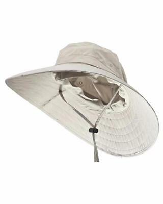 Sun Protection Zone Unisex Lightweight Adjustable Outdoor Booney Hat         N-1