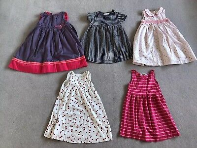 Summer Dresses Bundle Girls Age 2-3 Years Monsoon, Jo Jo Maman Bebe, Mothercare,