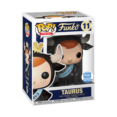 Funko Pop Taurus Freddy Funko Zodiac Exclusive Limited Edition Nmib # 11