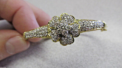 Beautiful Estate Diamond Bracelet  14k Gold 1.50  ctw Make Offer