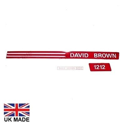 Decal Set Fits David Brown 1212 Tractors.