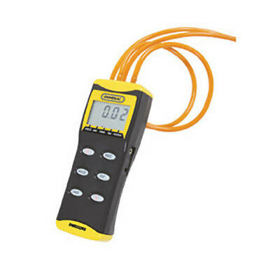 General DM8252RS High Resolution Digital Manometer w/Rubber Stoppers
