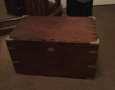 A 19th Century Campaign Chest / Coffee Table