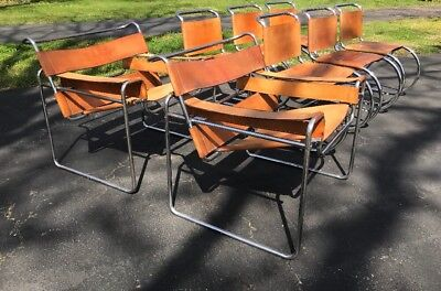 Original Marcel Bruer Knoll Wassily Chairs