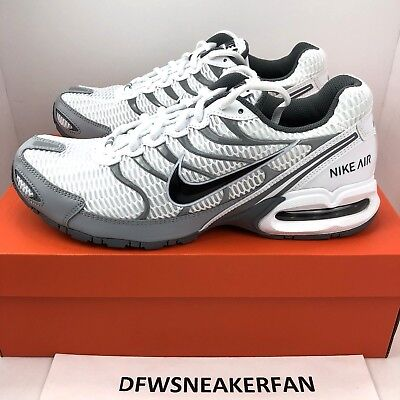 74a45ed88aab2 Nike Air Max Torch 4 Mens 343846-100 White Anthracite Grey Running Shoes Sz  12