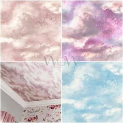 Diamant Galaxy Nuage Papier Peint Violet Rose Arthouse 260009