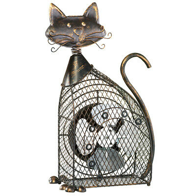 Vintage Styled Mesh Pet Fan, Portable and USB Powered, Cat, by Collections Etc