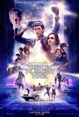READY PLAYER ONE (2018) Original Authentic Movie Promo Poster 11x17