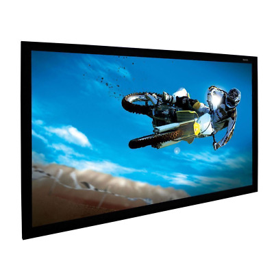 "120"" Diagonal Projection Screen Material + Plans for DIY Fixed Frame (109""x63"")"