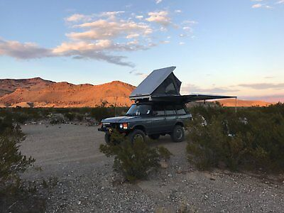 1992 Land Rover Range Rover Custom Range Rover Classic Overland Vehicle with LC9 engine