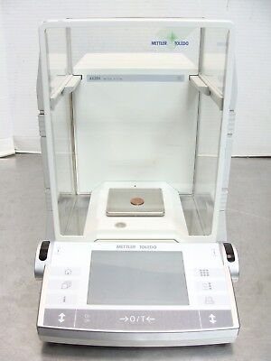 Mettler Toledo AX204 Digital Analytical Balance / Scale 220g Max .1mg Increments