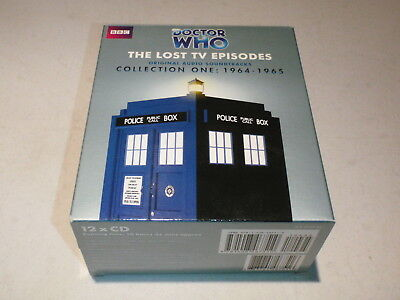 Doctor Who The Lost Tv Episodes Vol 1 Set - 5 Audio Stories By Bbc On Cd