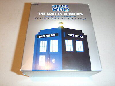 Doctor Who The Lost Tv Episodes Vol 5 Set Audio Stories By Bbc On Cd