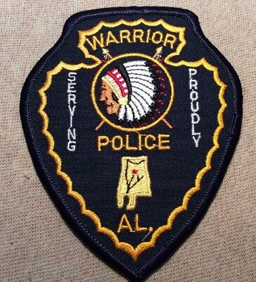 AL Warrior Alabama Police Patch