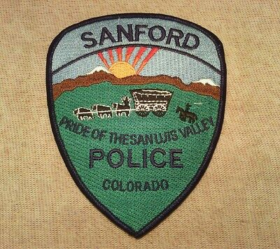 CO Sanford Colorado Police Patch