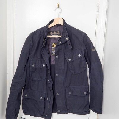 Barbour International Blue S 1936 Men's Jacket Coat