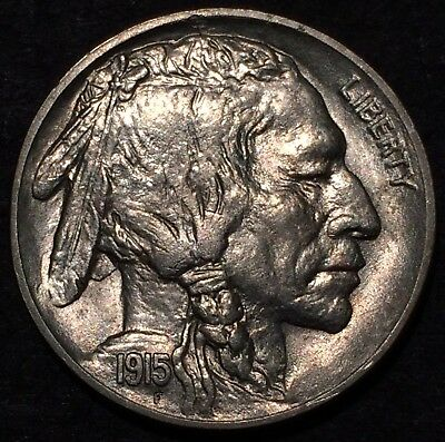 1915 buffalo nickel U.S. Mint Philadelphia #152 Uncirculated