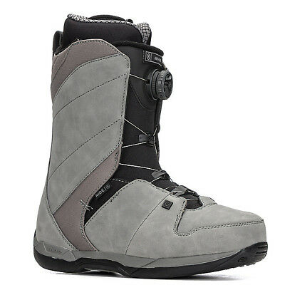 Ride Anthem Boa Coiler Grey Mens 2018 Snowboard Boots