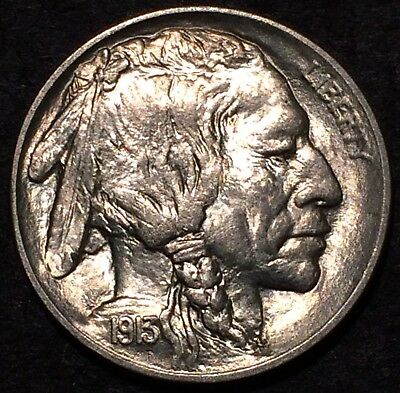 1913 buffalo nickel U.S. Mint Philadelphia #168 Uncirculated