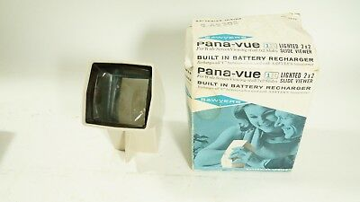 Sawyer's Pana-vue 1 R Lighted 2 X 2 Slide Viewer with Built in Batteries
