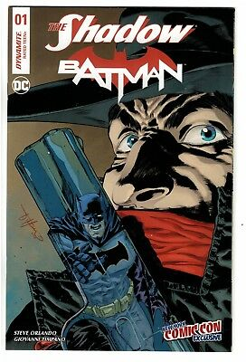Dynamite Comics The Shadow and Batman # 1 NYCC Variant Edition Cover