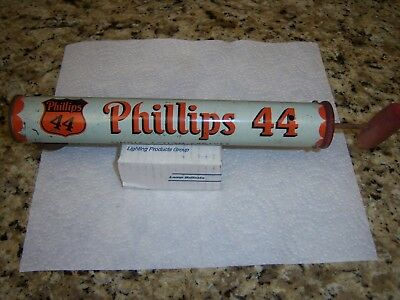 Rare Phillips 44 Single Action Sprayer Oil Can For Bugs Metal Cylinder