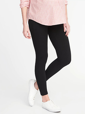 Old Navy Maternity Front Low Panel Legging-M-NWT