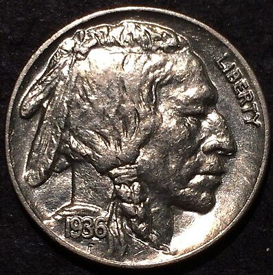 1936 buffalo nickel #173 U.S. Mint Philadelphia Uncirculated