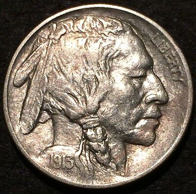 1913 D buffalo nickel #125 U.S. Mint Denver HIGHER  GRADE AU++