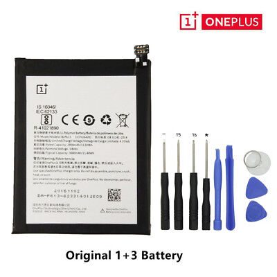Genuine Original OnePlus Battery For OnePlus 3/2/1/X /3T with 9 Free Tools