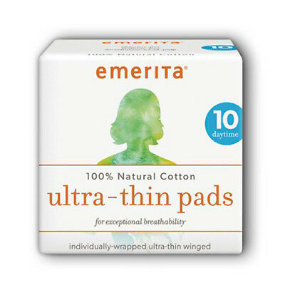Cotton Ultra Thin Pads Overnight with Wings, Fragrance