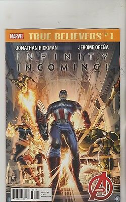 Marvel Comics Infinity Incoming #1 True Believers Reprint Nm