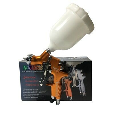 DEVILBISS ADVANCE HD-2 Spray Gun HVLP Gravity Feed Auto Paint For Car,Furniture